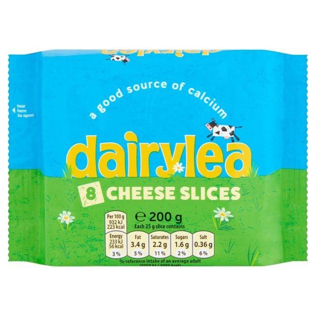 Cheese Slices 200g Dairylea