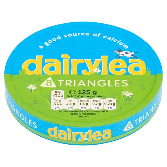 Cheese Triangles 8 Dairylea