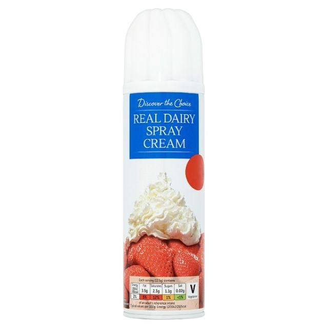 Cream Real Dairy Spray