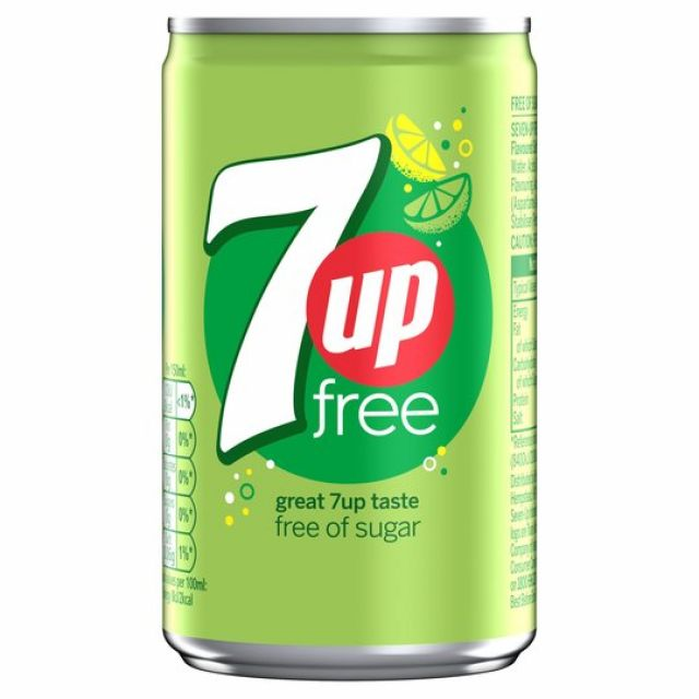 7UP Free Can 330ml