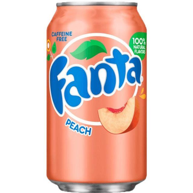 Fanta Peach Can 330ml