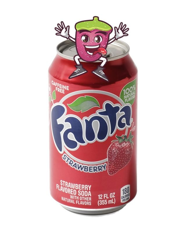 Fanta Strawberry Can 330ml