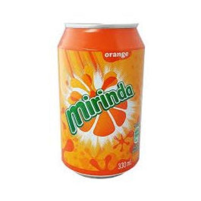 Mirinda Orange Can 330ml