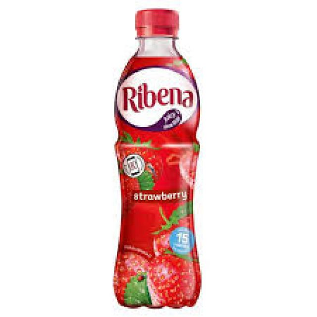 Ribena Strawberry Bottle 500ml