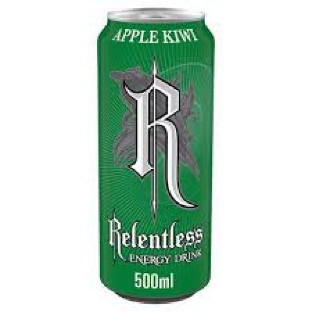 Relentless Apple Kiwi Energy Drink 500ml