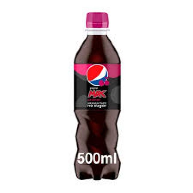 Pepsi Max Cherry Bottle 500ml