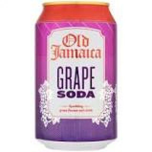 Grape Soda Old Jamaica 0.33l Can