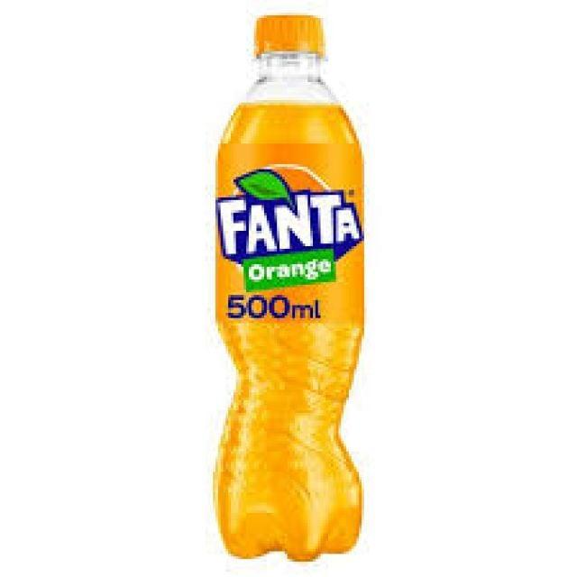 Fanta Orange Bottle 500ml