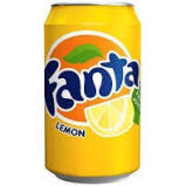 Fanta Lemon  0.33l Can
