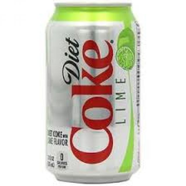 Diet Coke Lime Can 0.33l
