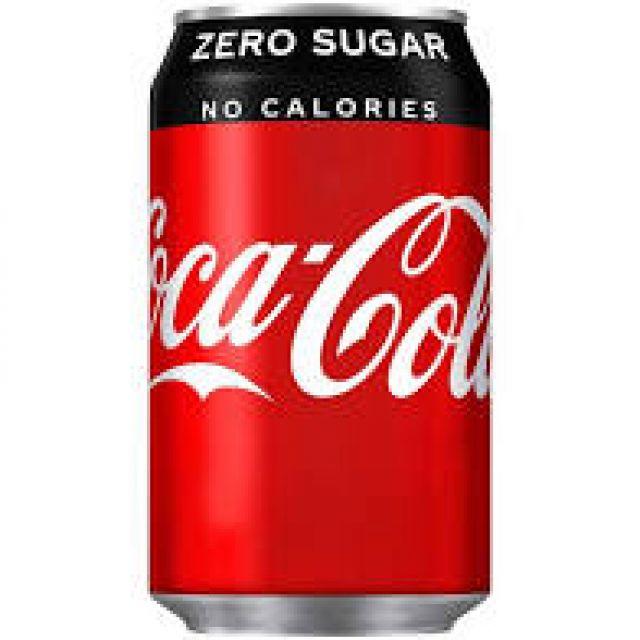 Coke Zero Sugar Can