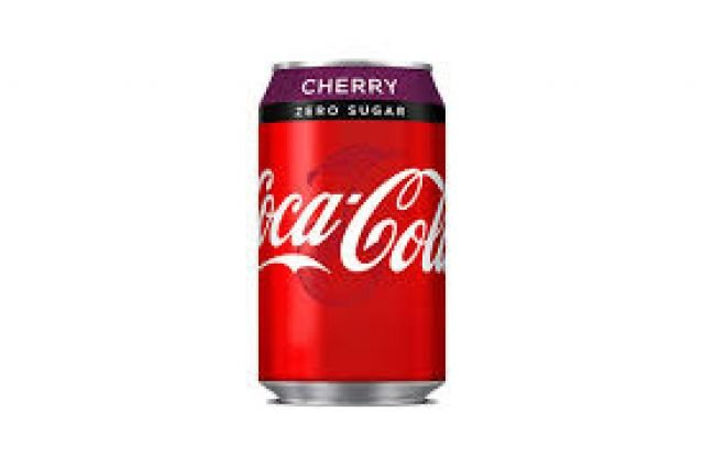 Coke Zero Cherry Can 0.33l