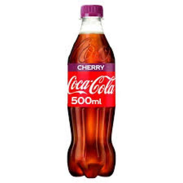 Coke Cherry Bottle 500ml