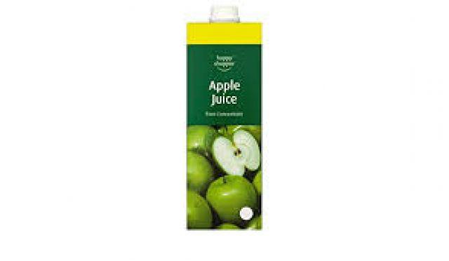 Apple Juice 1L Happy Shopper