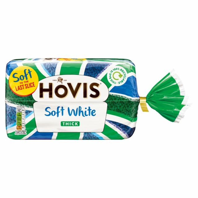 Hovis Soft White Thick Loaf 800g