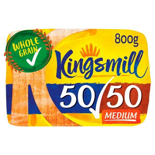 Kingsmill 50/50 800g