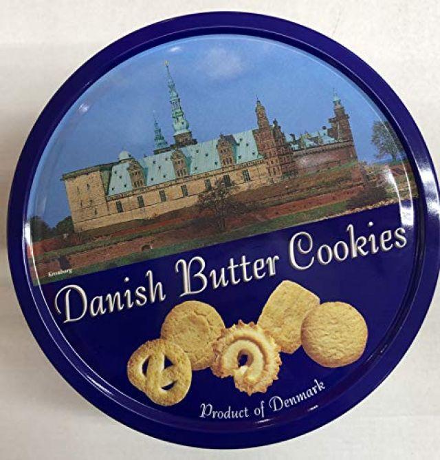 Danish Butter Cookies 200g Tin