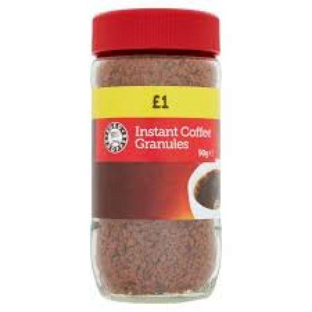 Instant Coffee Granules Happy Shopper