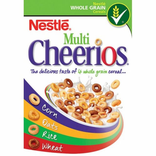 Nestle Cheerios Multigrain 20 serving