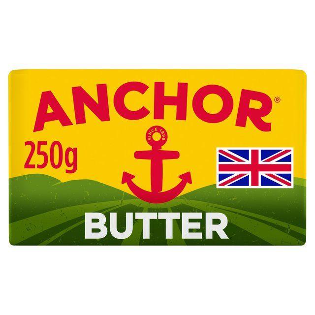 Butter Anchor Salted Block 250g