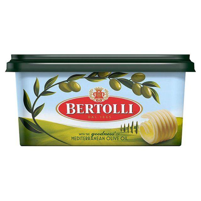 Butter Bertolli Olive Oil Tub