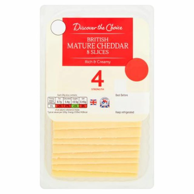 Cheese Mature Cheddar Discover The Choice