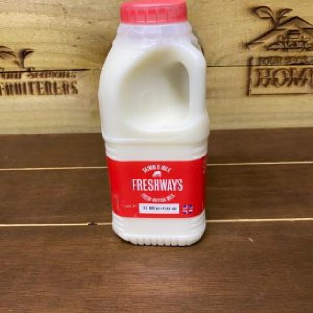 Milk Skimmed 1 Pint