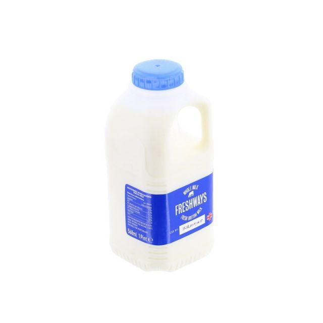 Milk Whole 1 Pint