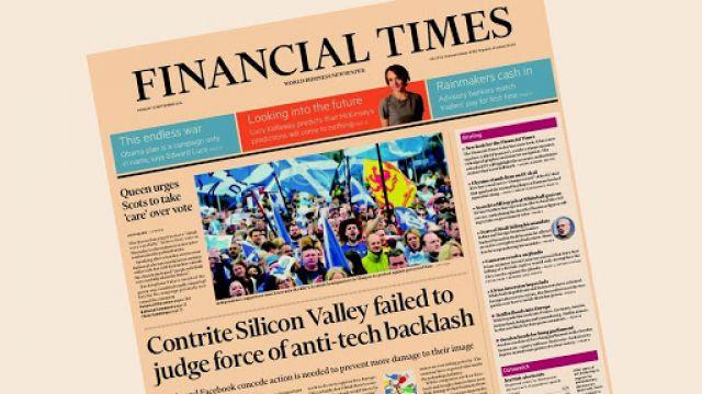 Financial Times Newspaper
