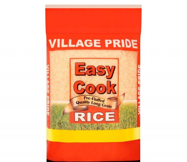 Easy Cook Rice 1kg Village Pride