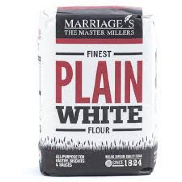 Plain Flour 1kg Marriage Master Millers