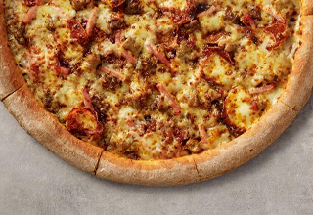 BBQ Meat Feast Pizza