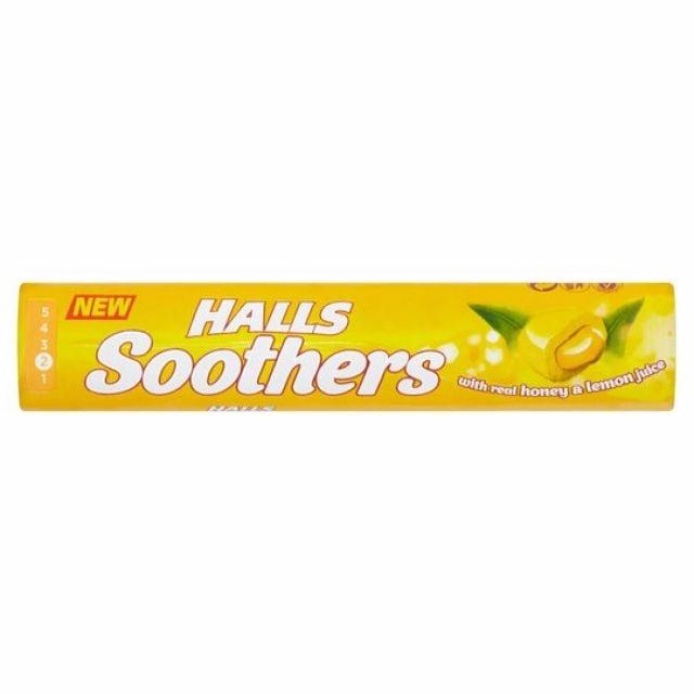 Halls Soothers Honey & Lemon