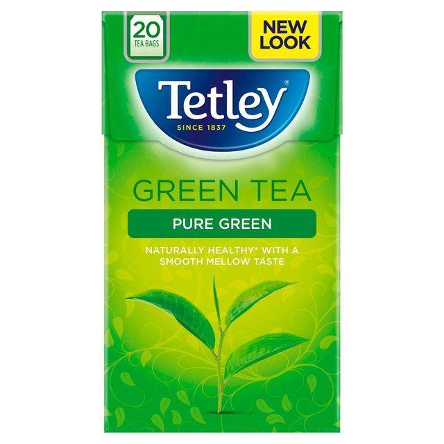 Green Tea Tetley 20 Bags