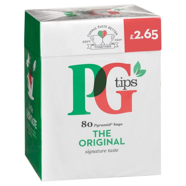 Tea PG Tips 80 Bags
