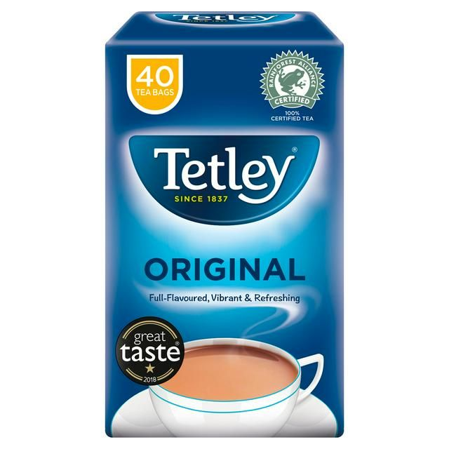 Tea Tetley 40 Bags