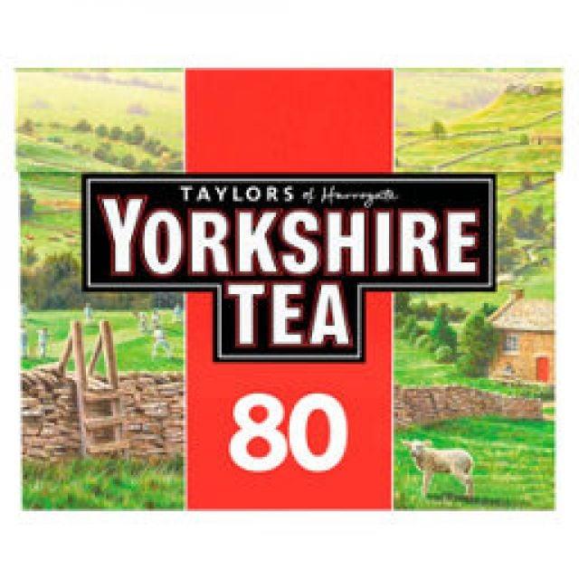 Tea Yorkshire 80 Bags