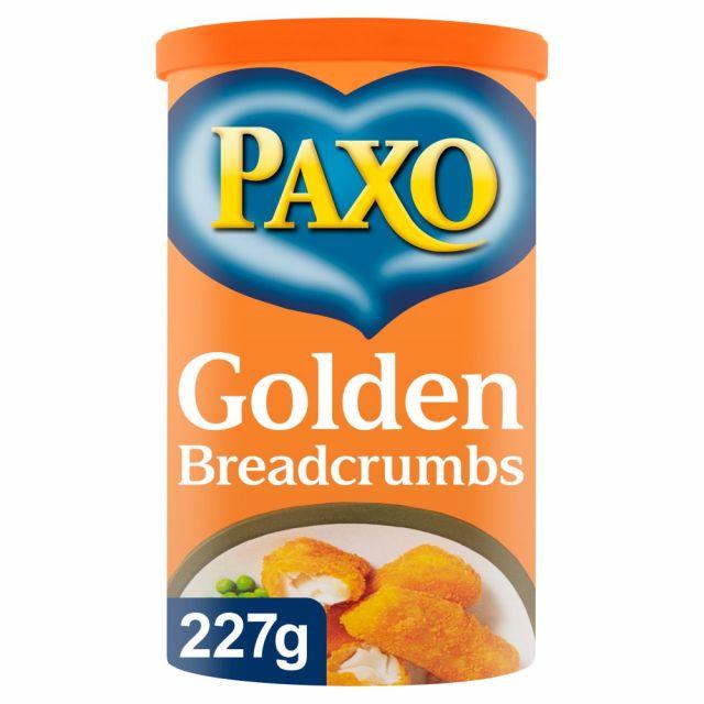 Golden Breadcrumbs 227g Paxo