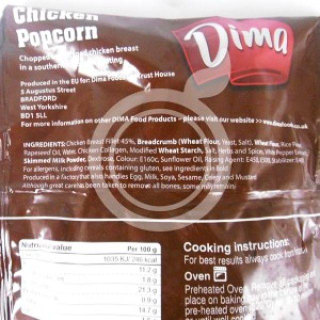Chicken Popcorn Dima