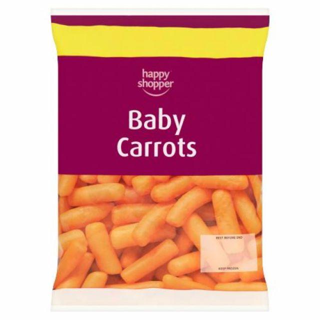 Baby Carrots 500g Happy Shopper