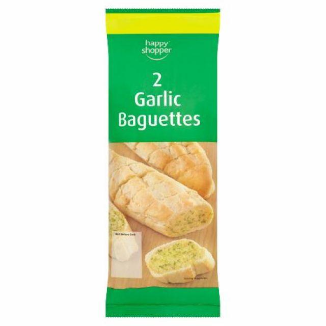 Garlic Baguettes Happy Shopper 2pcs