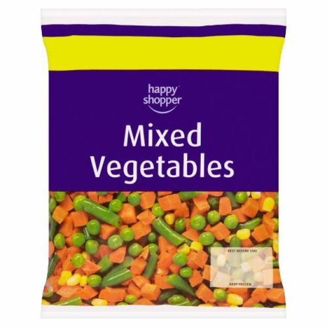 Mixed Vegetables 500g Happy Shopper
