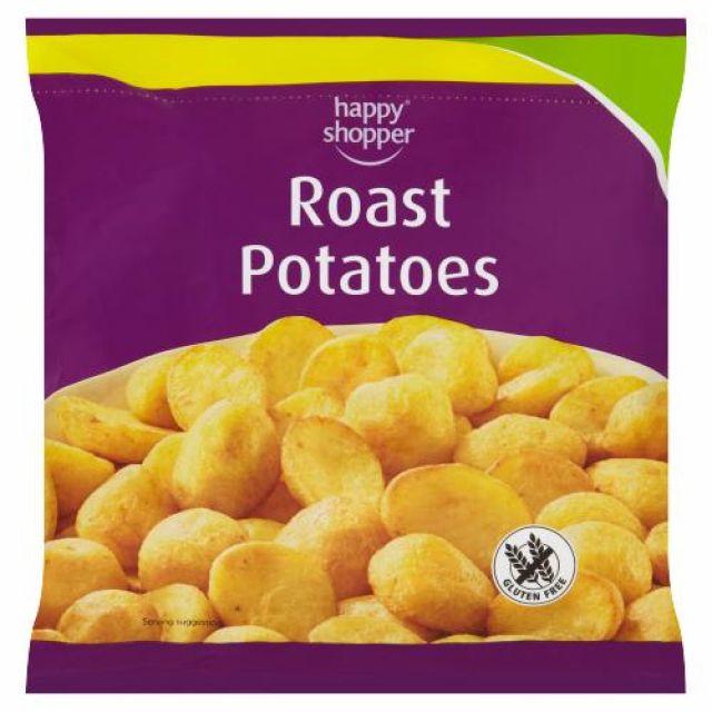 Roast Potatoes 750g Happy Shopper