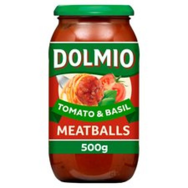 Dolmio Meatballs Tomato & Basil Sauce