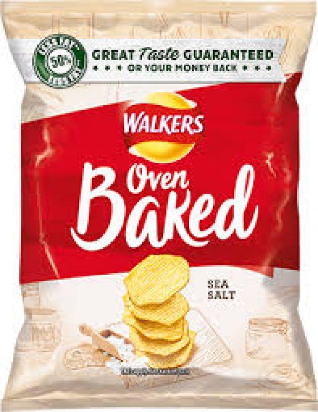 Walkers Oven Baked Sea Salt