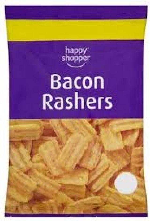 Bacon Rashers Happy Shopper