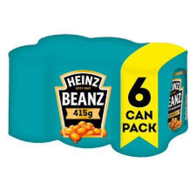 Baked Beans Heinz 6 Pack