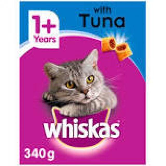 Whiskas Tasty Filled Pockets Tuna 340 Cat Cry Food