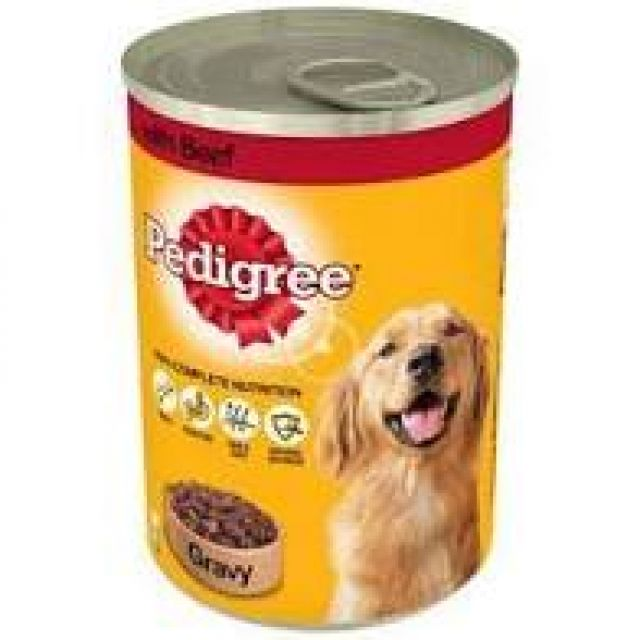 Pedigree In Gravy With Beef Can