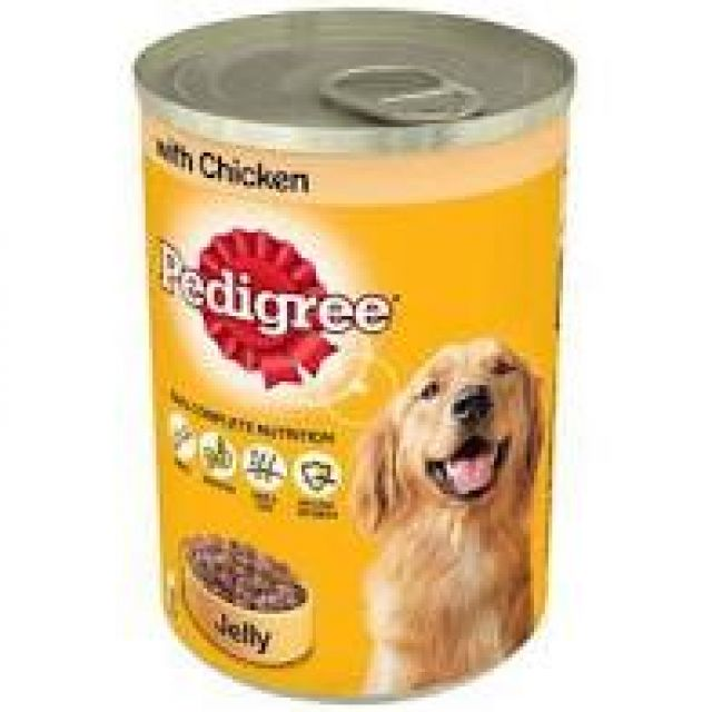 Pedigree In Jelly With Chicken Can
